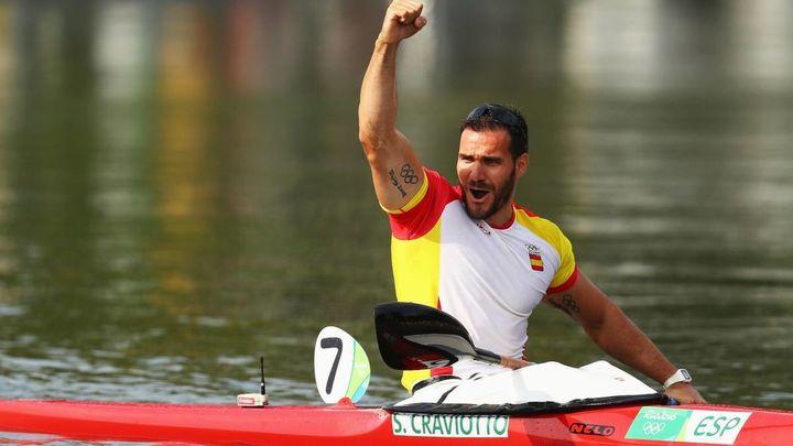 Craviotto,  con cinco  medallas olímpicas, leyenda del deporte español