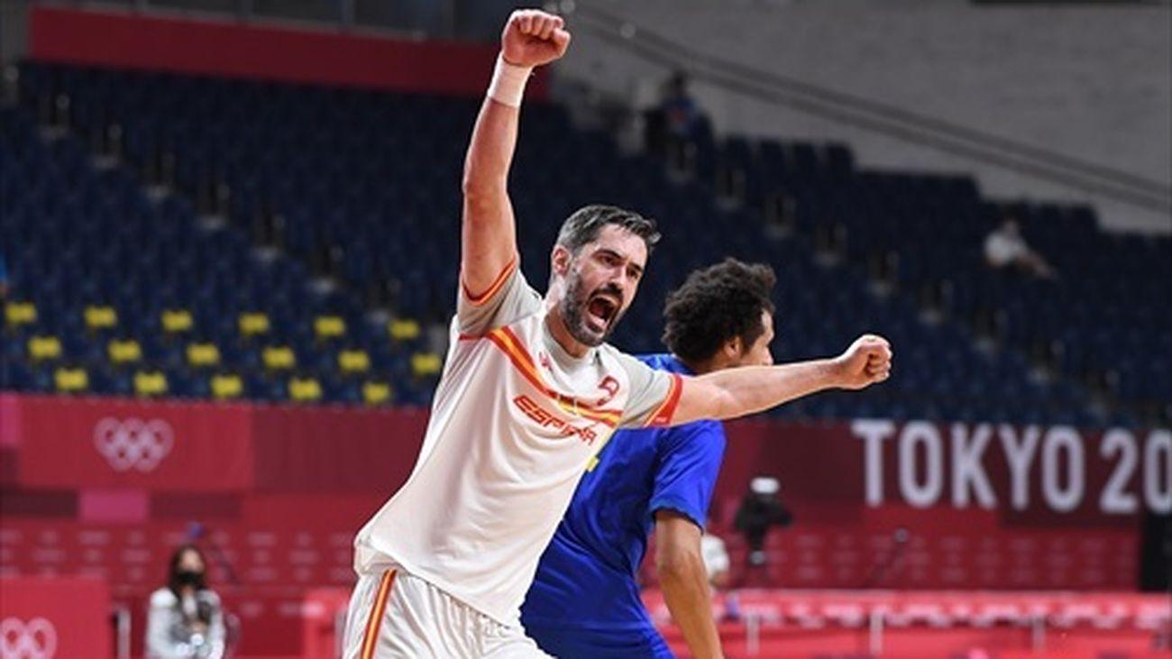 España, a semifinales de balonmano tras remontar ante Suecia