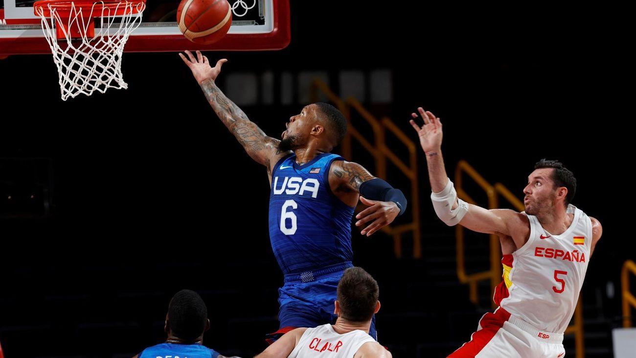 81-95. Estados Unidos elimina a España de los Juegos de Tokio