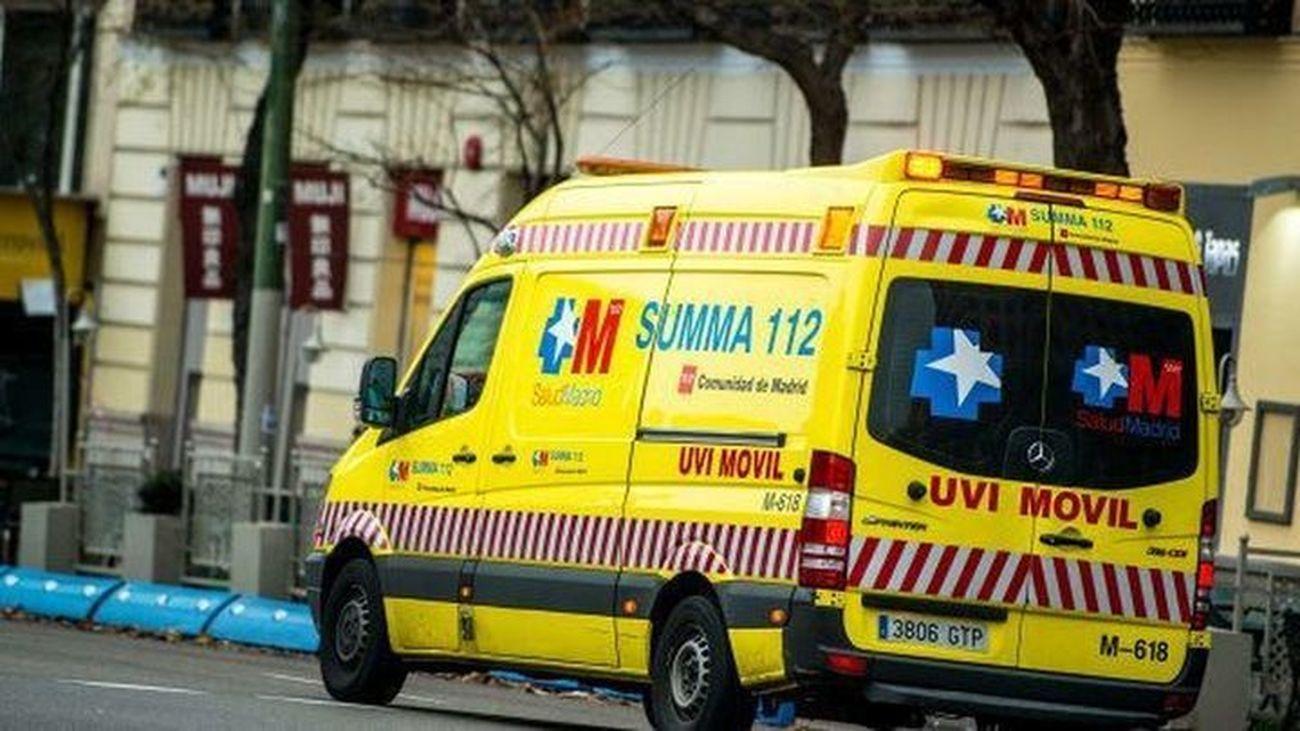 Herido grave un trabajador tras una deflagración con un soplete en Getafe