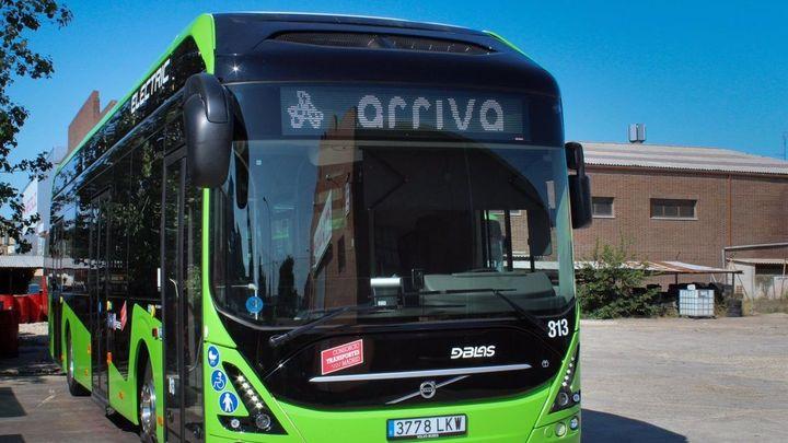 Alcorcón ya prueba un autobús eléctrico en la línea 1 urbana