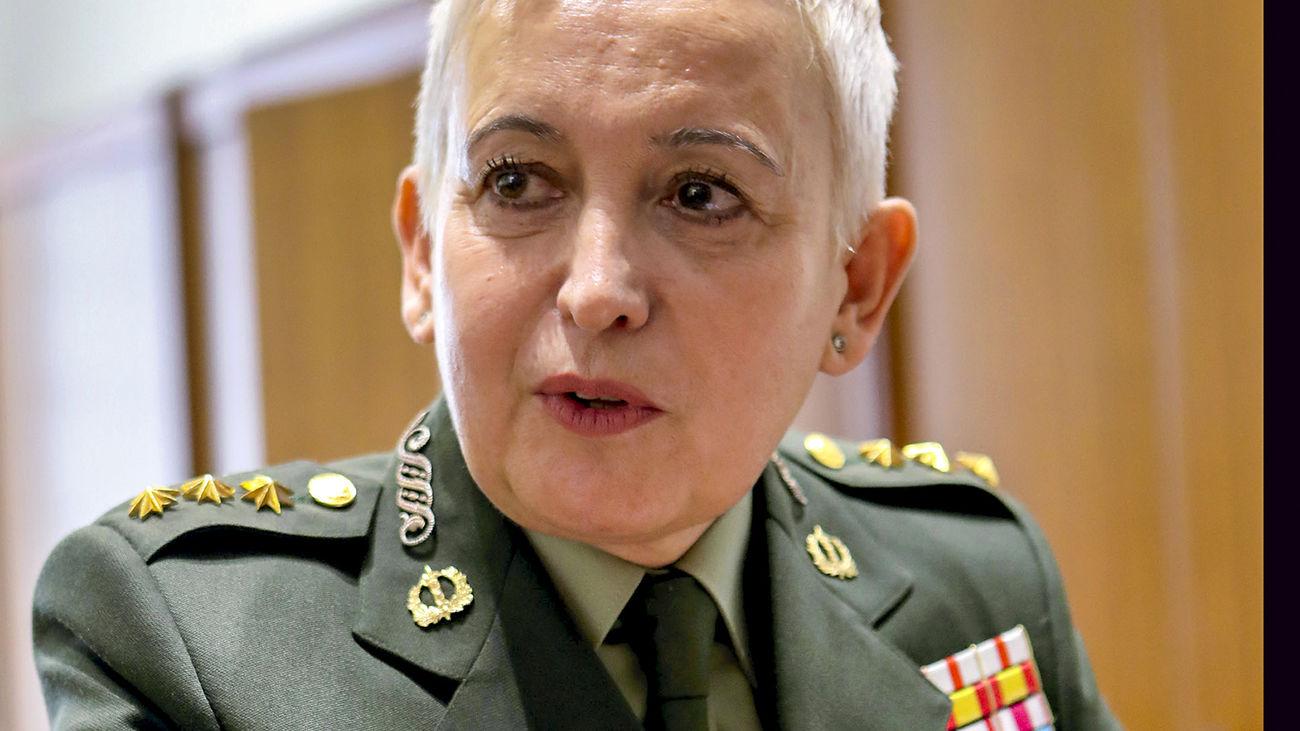 Begoña Aramendía, la segunda General de las Fuerzas Armadas de España