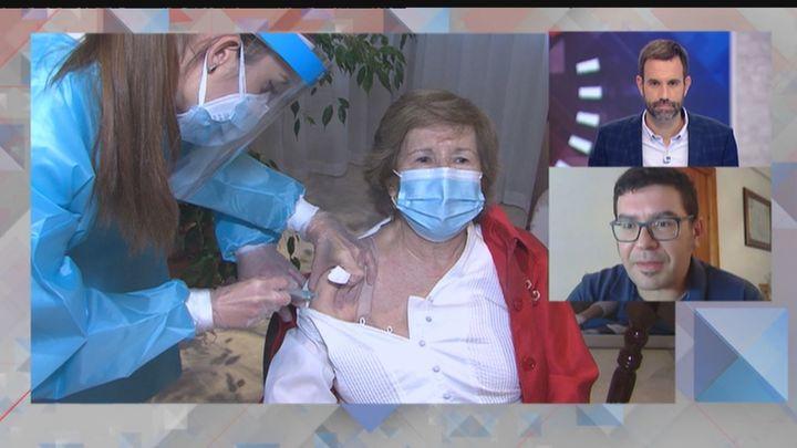 Los profesionales de las residencias piden una tercera dosis de la vacuna