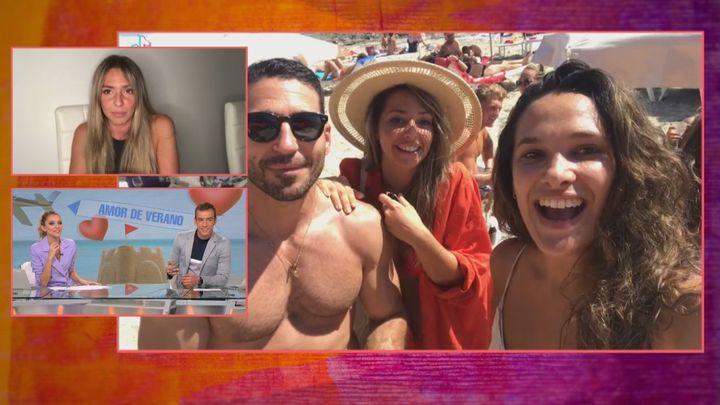 Miguel Ángel Silvestre pierde un anillo en la playa y se lo encuentra Blanca, una malagueña