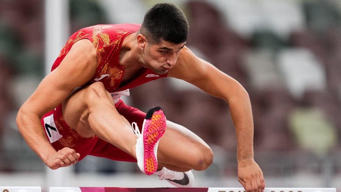 Asier Martínez, a la final de 110 metros vallas en sus primeros Juegos