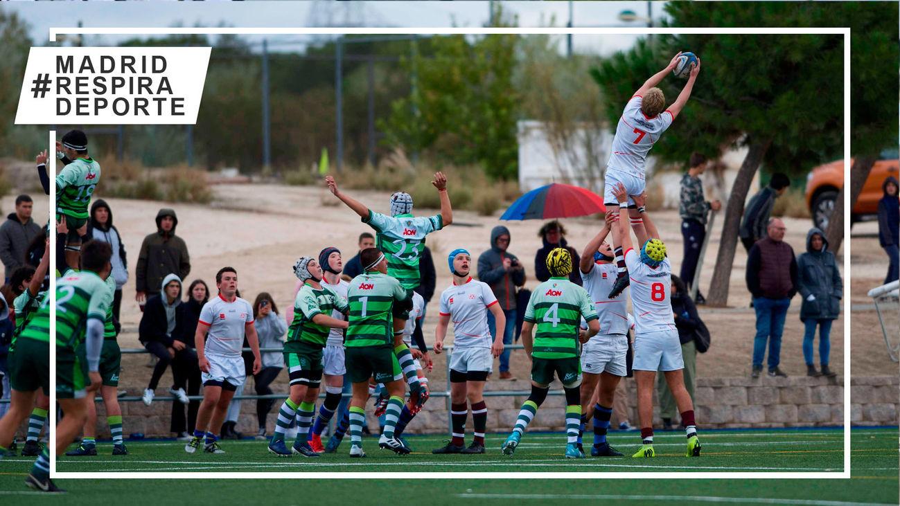 Los CamSelección madrileña de rugby