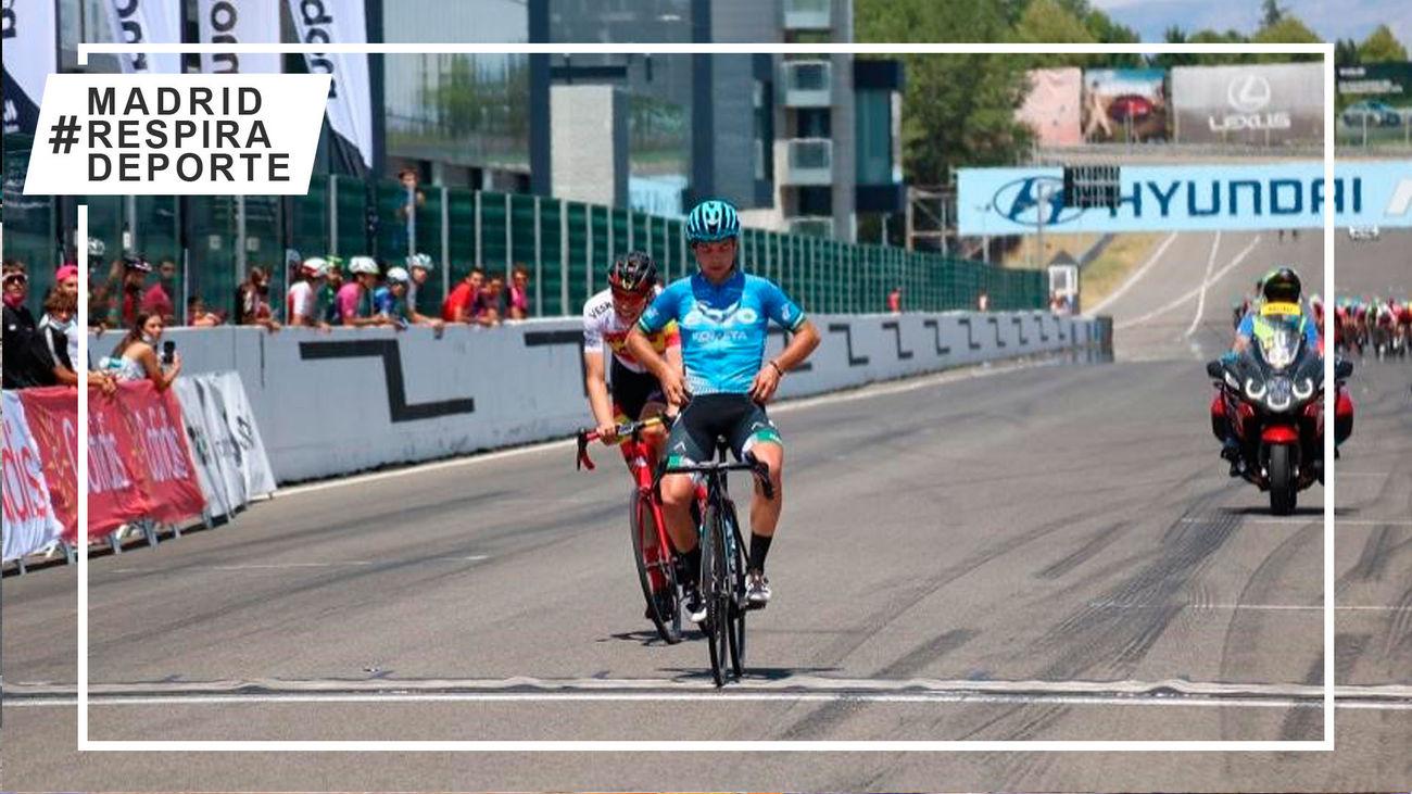 Ciclismo en el circuito del Jarama