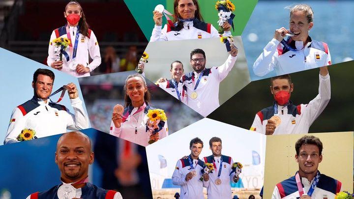 Medallistas españoles en Tokio 2020