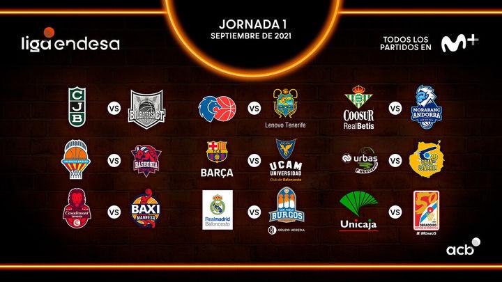 Repasa las fechas claves de la Liga ACB 2021-22 que empieza con unReal Madrid-Burgos