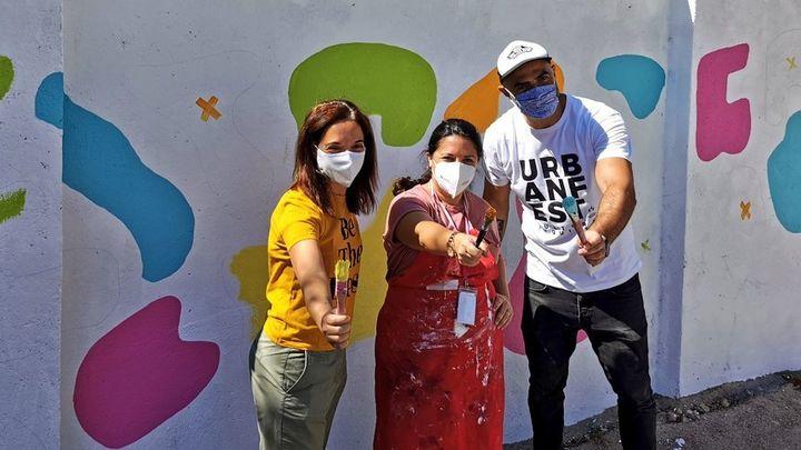 Grafiteros y muralistas pintarán 50 paredes en Getafe en un festival de arte urbano