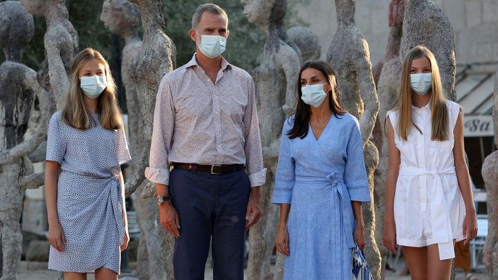 La foto de la Familia Real de este verano desde Mallorca