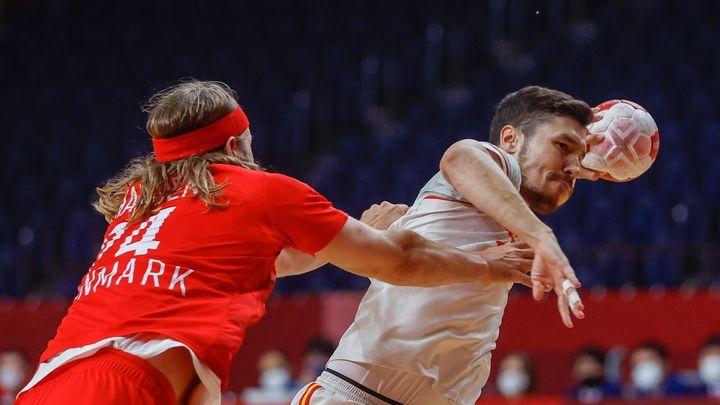 23-27. España luchará por el bronce tras perder con Dinamarca