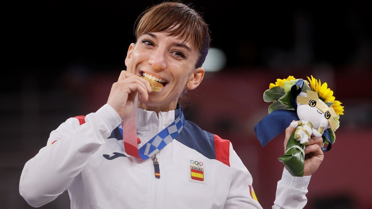 Sandra Sánchez, medalla de oro en el templo del kárate