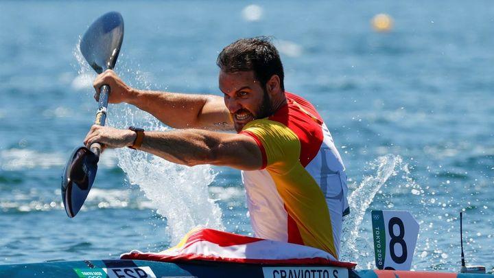 Jarro de agua fría en el piragüismo español en los Juegos a la espera del K4 500