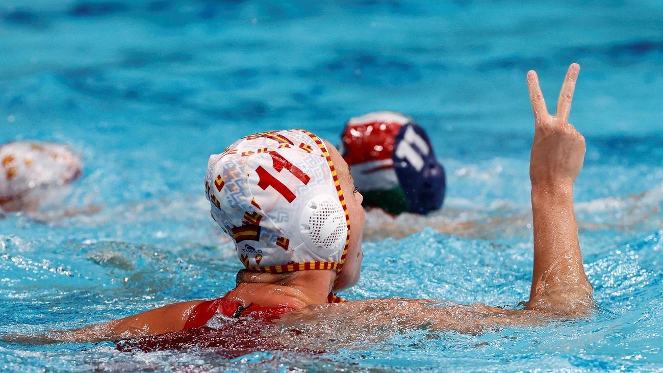 8-6. España seca a Hungría y jugará su segunda final olímpica ante EEUU
