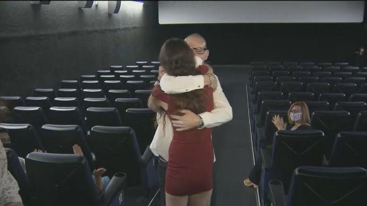 Petición de mano de película en Parla: Rocío da el 'sí, quiero' a Antonio