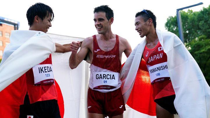 """Diego García: """"Me quedé cerquita de las medallas"""""""