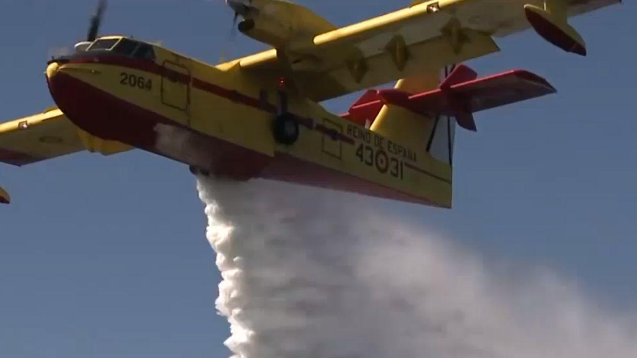 El 43 Grupo del Ejército del Aire, 50 años apagando fuegos en todo el mundo