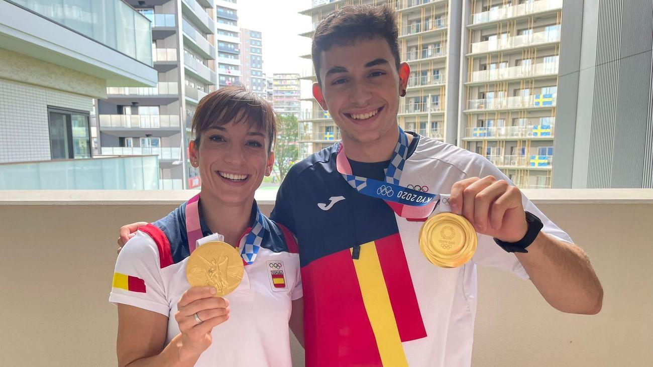 Oro a pares, final en waterpolo y medalla de chocolate en marcha