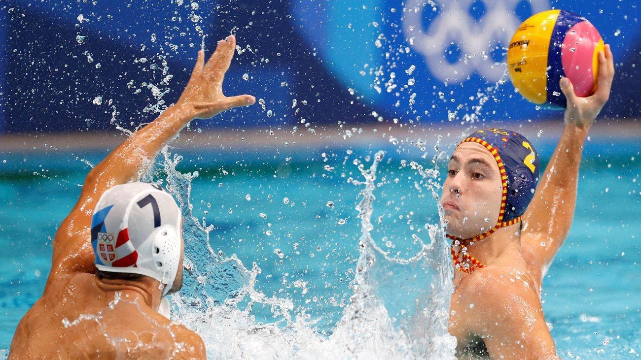 10-9. España cae con Serbia y deberá conformarse con pelear por el bronce