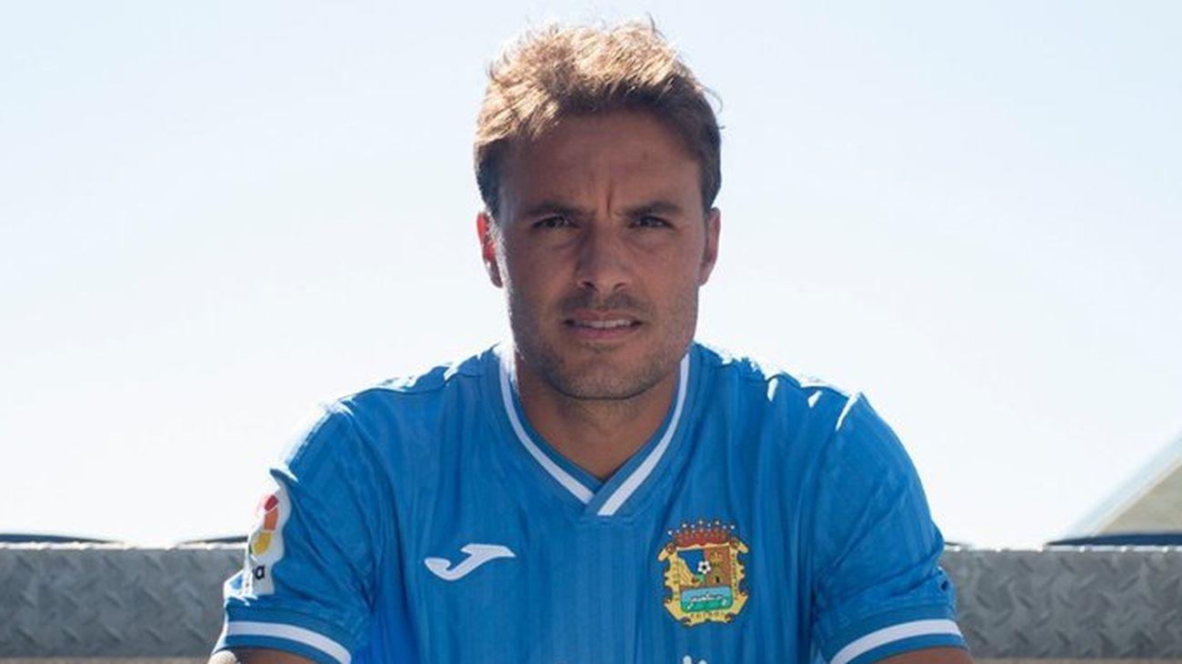 """Pedro León: """"Quería venir al Fuenlabrada sí o sí"""""""