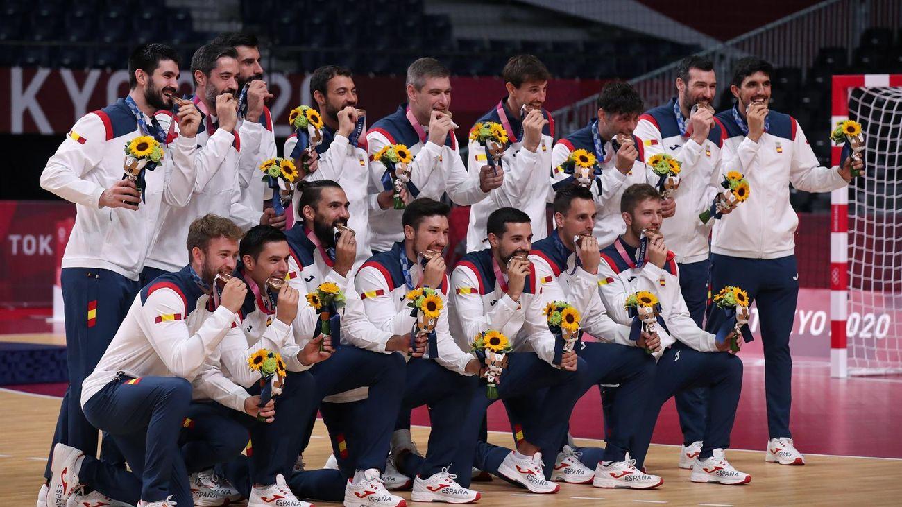 Los 'Hispanos', medalla de bronce tras derrotar a Egipto