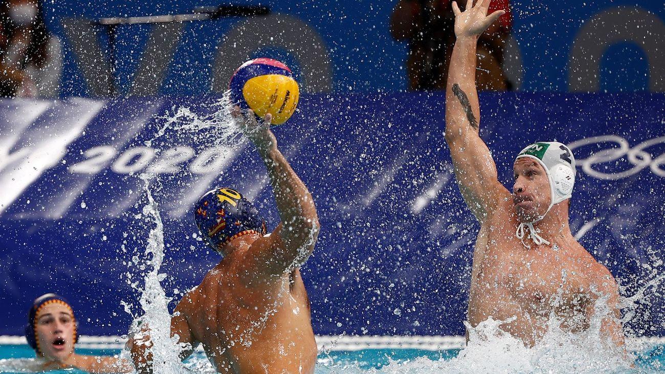 9-5. España cae ante Hungría y  se queda sin medalla