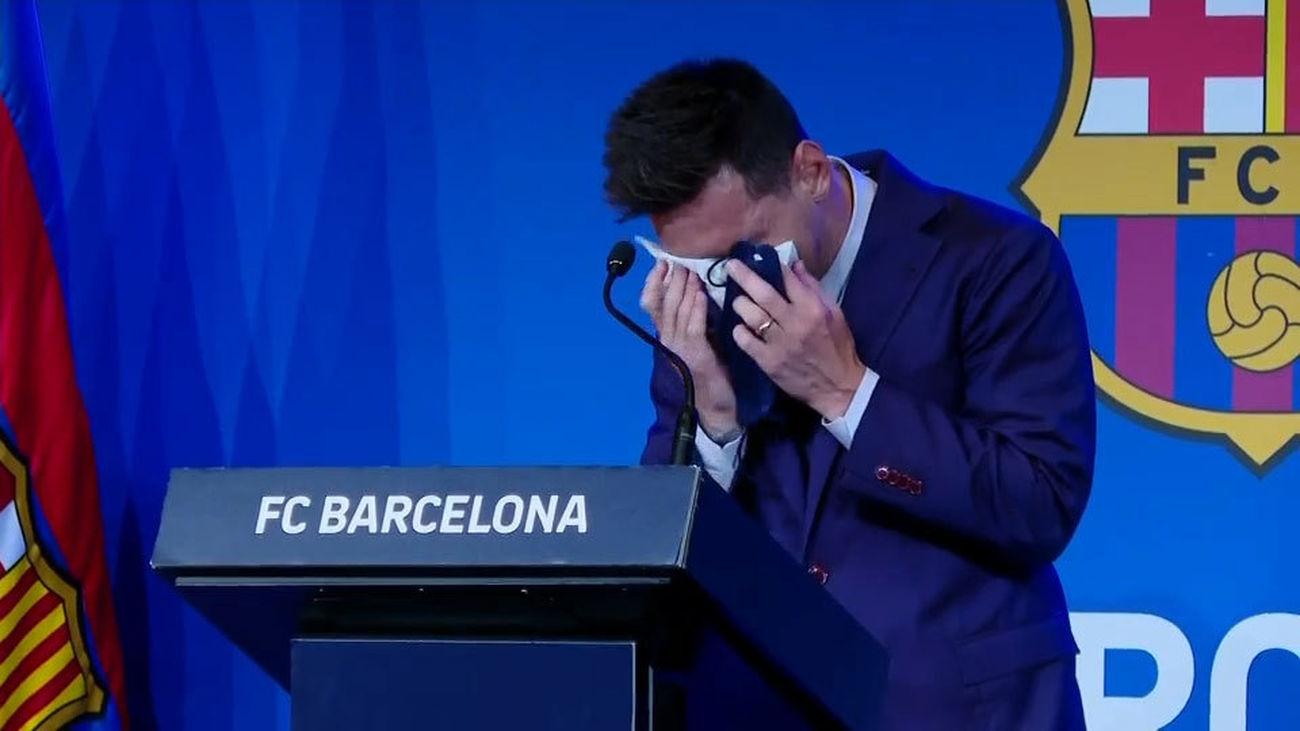 """Messi: """"Estaba convencido de que iba a seguir aquí, en mi casa"""""""