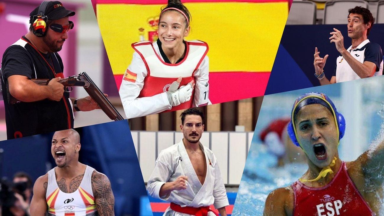 Los deportistas madrileños que triunfaron en Tokio 2020