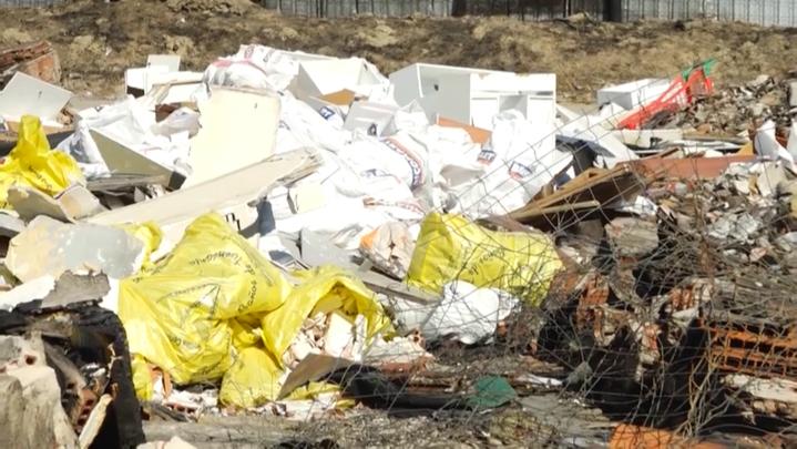 Un Polígono Industrial de Leganés, convertido en vertedero tras un incendio