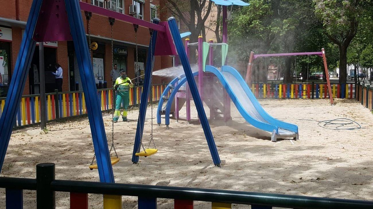 Getafe inspeccionará la seguridad de las 174 áreas infantiles de juegos