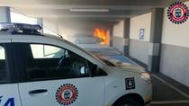 Investigan en Valdemoro el incendio de un coche en un Mercadona, que tuvo que ser desalojado