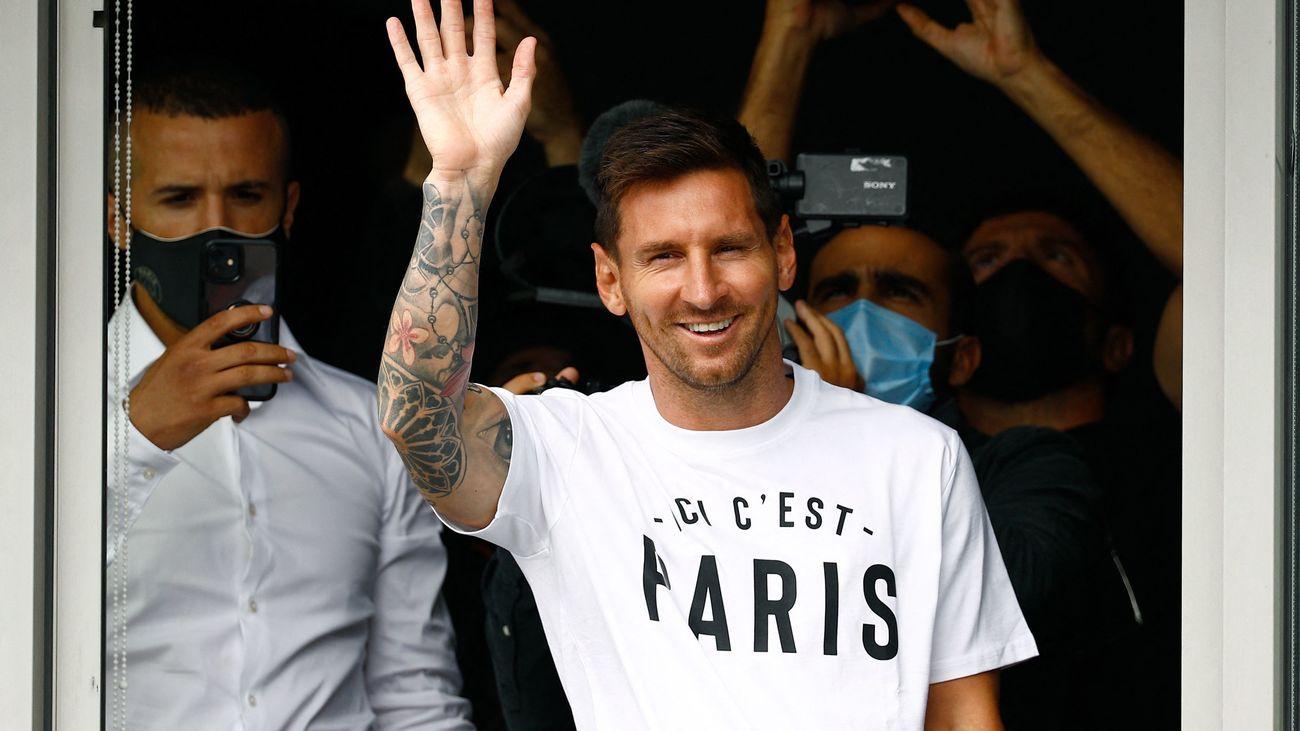 Messi podría estrenar la camiseta del PSG este mismo miércoles