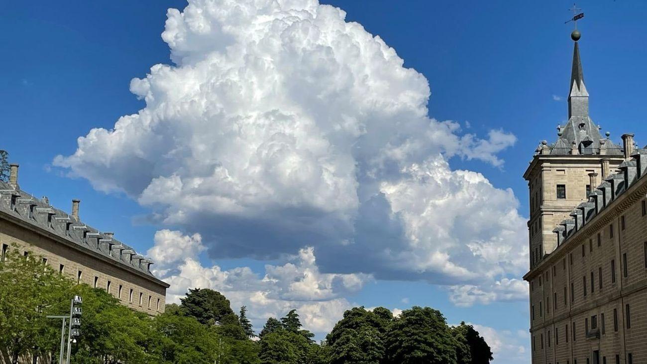 Y además del calor... Madrid también tendrá tormentas 'secas'