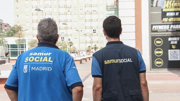 Samur Social pone en marcha un dispositivo especial por la ola de calor