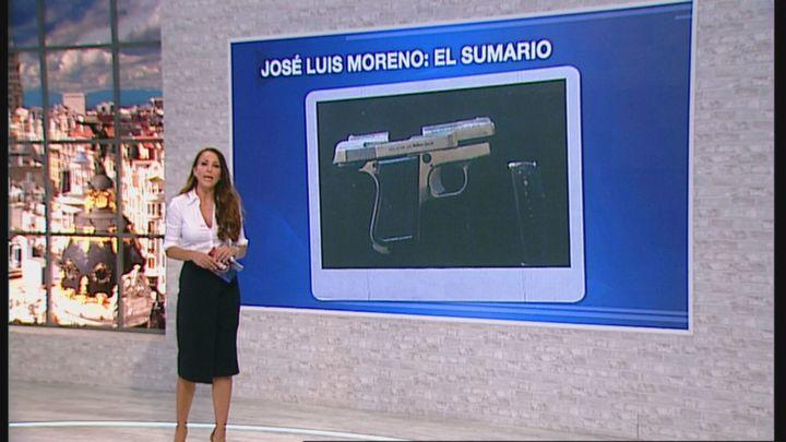 La Policía encontró una pistola cargada en la mesilla de noche de José Luis Moreno