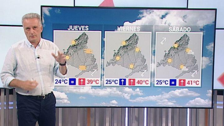 Ya está en Madrid la ola de calor con temperaturas que rozan los 40 grados