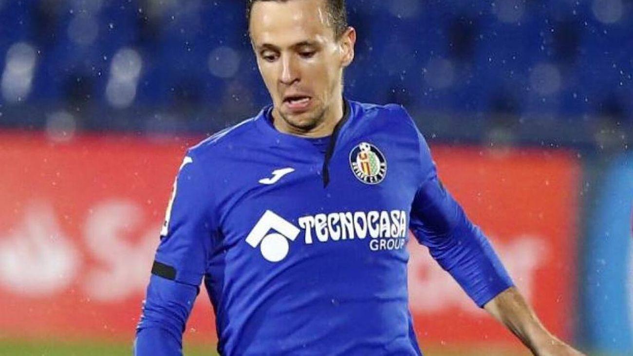 """Maksimovic: """"Tengo tres años más de contrato, solo pienso en el Getafe"""""""
