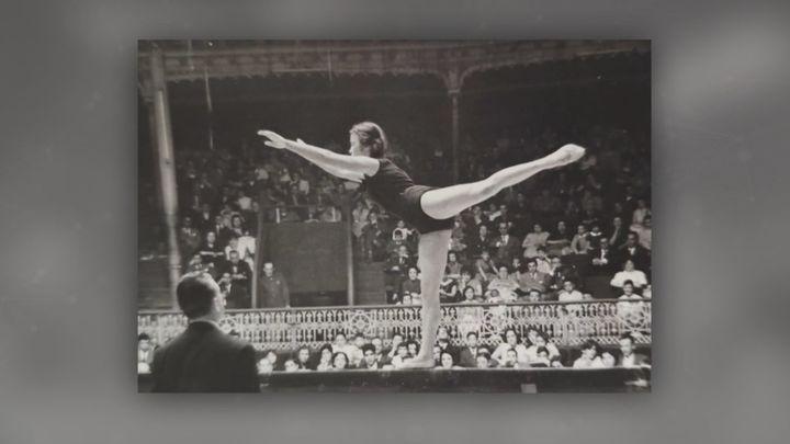 Carmen González, una de las primeras mujeres en competir en los Juegos Olímpicos
