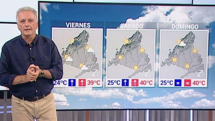 Madrid, al rojo: 38 grados en la capital, 38 en Alcalá... y 40 en Aranjuez