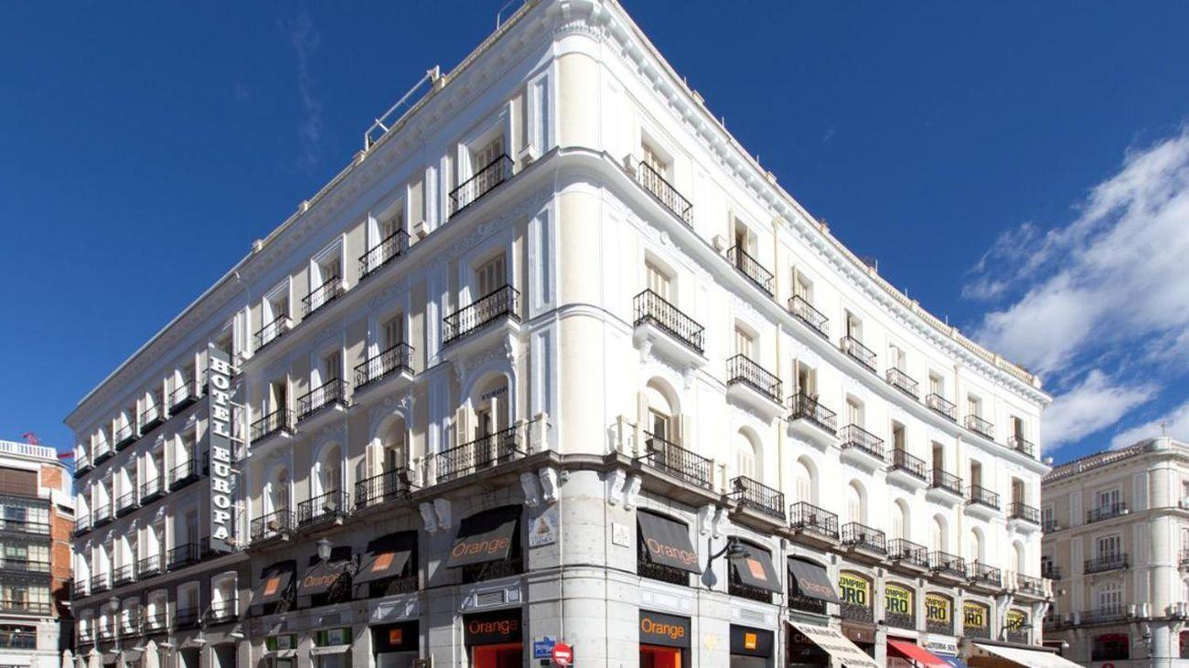 Detenido un joven por destrozar una habitación de hotel en el centro de Madrid