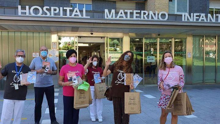 La naturaleza entra al hospital para mejorar la salud de los niños ingresados