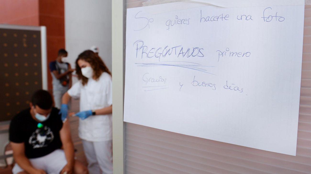 La incidencia por Covid sigue bajando en España y se sitúa en 462