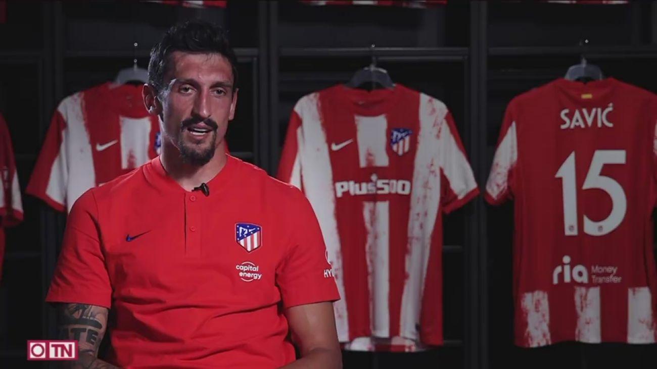 El Atlético echa el candado a Savic y Giménez