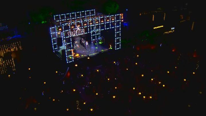 Roban con una carretilla la caja fuerte del Festival Internacional Starlite, en Marbella