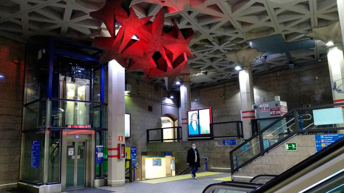 Madrid  instala tornos 4.0  en las once estaciones de Metro con mayor afluencia de viajeros