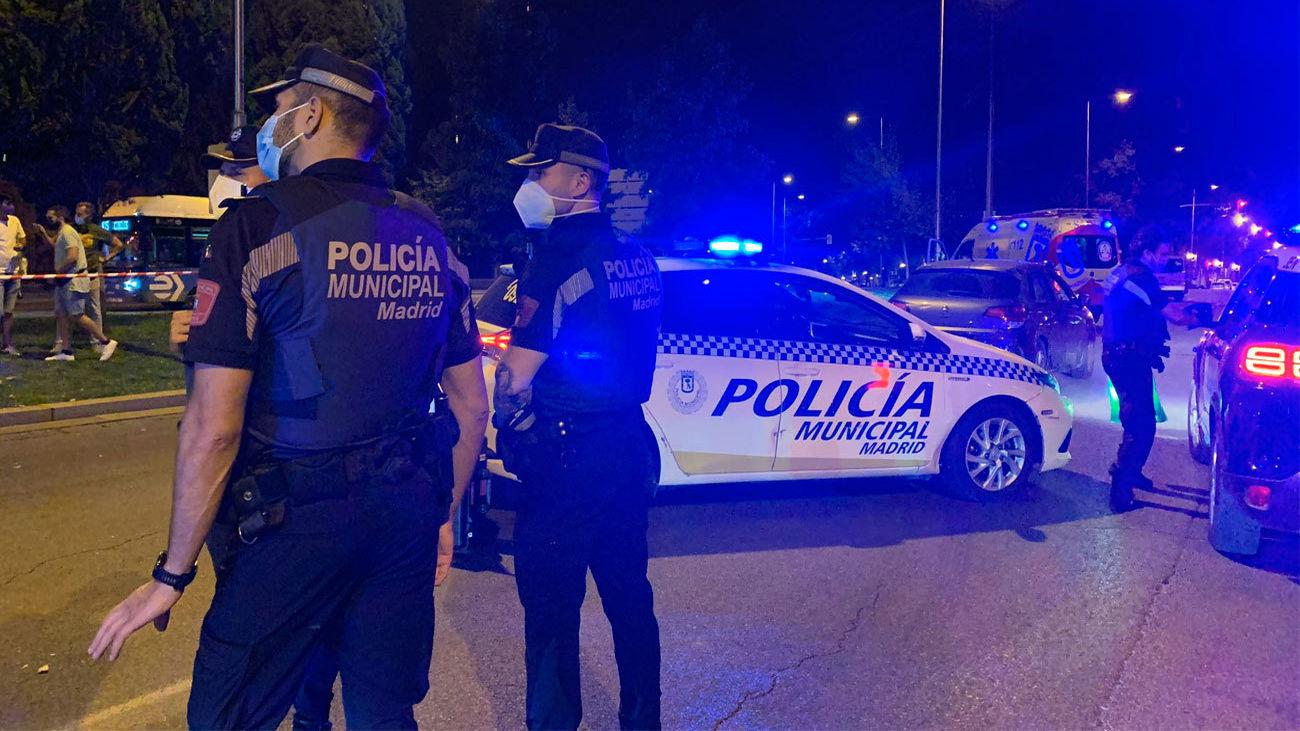 Una mujer en estado muy grave al ser atropellada en Madrid por un coche que se dio a la  fuga