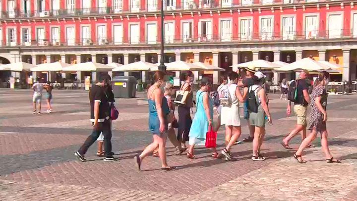 El turismo se reactiva en Madrid, con siete de cada diez hoteles abiertos