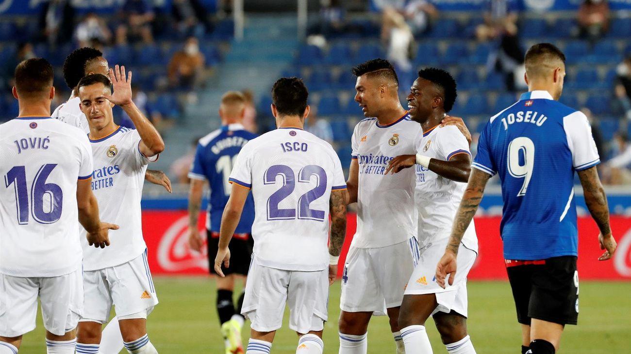 1-4. El Real Madrid saca el colmillo ante el Alavés