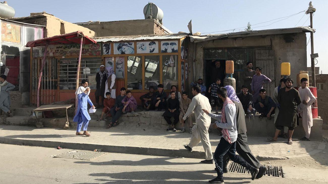 El presidente de Afganistán abandona el país después de la entrada de los talibán en Kabul